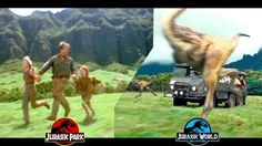 These are all the Easter Eggs, Homages, Tributes, Callbacks and Similarities between the Jurassic Park trilogy and Jurassic World.