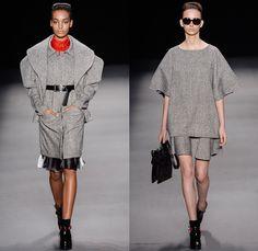 Alessa by Alessandra Migani 2014 Winter Southern Hemisphere Womens Runway Collection - Fashion Rio Brazil Moda Brasileira - Inverno 2014 Mul...