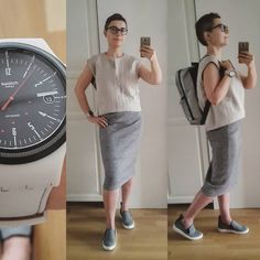 """A small but proud bird в Instagram: «Wearing """"#swissmade"""": #berenik #freitag #swatch #punctumaureum Accompanied by #hm and #shellys #look #lookbook #monday #monochrome #urban #streetstyle #currentlywearing #styleiswhat #style #outfitpost #lookoftheday #instafashion #me #instalike #fashion»"""