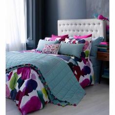 http://bluebellgray.co.uk/shop/bedding/   Bedding - pillowcase, duvet covers from UK. Rugs.  Ashley quilt