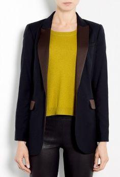 Rimola Modern Classic Tuxedo Jacket by By Malene Birger