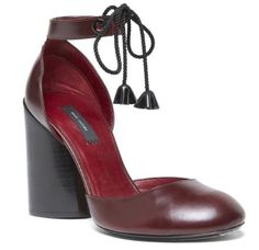 Marc Jacobs Pump 100MM in Oxblood