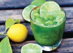 Lemon Lime Smoothie from Superfood Smoothies Cookbook