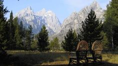 Grand Tetons: America's best front yard is at Jenny Lake Lodge at the Grand Tetons - Courant.com