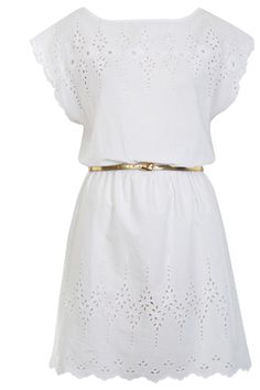 Now is as good a time as any to get over my phobia of wearing white! (via Miss Selfridge, $65)
