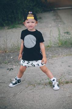 Hanes' outfit: top: Nununu shorts: Nununu shoes: c/o Shop Exhale Little Boy Fashion, Baby Boy Fashion, Kids Fashion, Little Boy Swag, Little Boys, Toddler Boys, Baby Kids, Boy Outfits, Cute Outfits