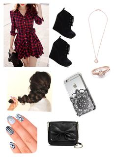 """""""Saturday date"""" by devlynnpoo2 ❤ liked on Polyvore featuring Sam & Libby, Ippolita and Elegant Touch"""