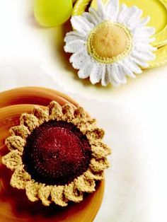 Flower Scrubbies