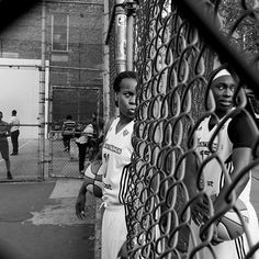 In August and September, we embedded ourselves with the @nyliberty for their playoff run. We caught them here filming a commercial with director Spike Lee at the famous West 4th Street basketball courts in New York