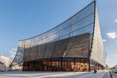 ALBI GRAND THEATER by Dominique Perrault Architecture