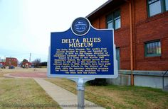 """Delta Blues Museum, Clarksdale, MS To see this and other sites in the South, visit our web www.musicheritageofthesouth.com. For updates """"like"""" our FB page."""