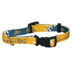 Oakland Athletics MLB Licensed Dog Collar