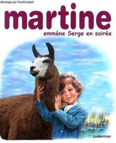 Martine et Serge le Lama