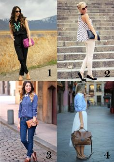 To be comfortable & stylish is so easy for the weekend. The point is to choose wisely! Which one is yours for today?