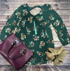 We love the print and color of this gorgeous dress!// Floral Vneck Dress $45   Beljoy Shakira $30   Laser cut light taupe Bootie $36.50   Charming Charlie purple purse $20    Comment below with PayPal to purchase and ship or comment for 24 hour hold  #repurposeboutique#loverepurpose#hipandtrendy#shoprepurpose#boutiquelove#falltransition#style#trendy#fall#backtoschool#bootiesonmyfeet#artisan#lovebeljoy