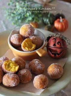 ハッピーハロウィン ☆ パンプキンドーナツ♪