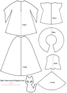 Short dress and long cloak