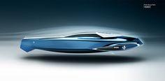 Rolls Royce 450EX Yacht Concept by Stefan Monro >> Yanko Design