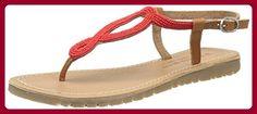 Banana Moon Vibiana, Damen Sandalen , rot - Rouge (Sho19) - Größe: 41 EU - Sandalen für frauen (*Partner-Link)