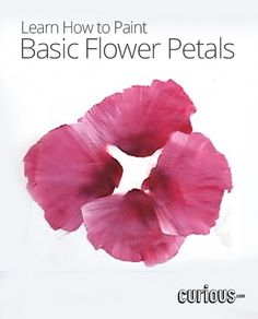 How to Paint Basic Flower Petals