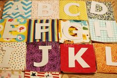 DIY: Simple Sew Fabric Letters - Parenting in Moments Baby Sewing Projects, Sewing Projects For Beginners, Sewing For Kids, Sewing Crafts, Diy Crafts, Basic Sewing, Hand Sewing, Fabric Letters, Diy Letters