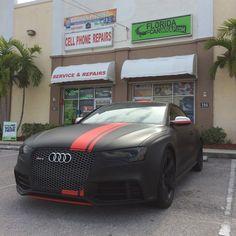 Matte Wraps in Davie - Florida Car Wrap