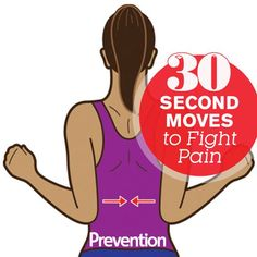 Conquer back, knee, and shoulder aches