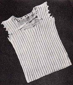 d34e6ac2465d 18 Best Baby singlets and vests - knitting patterns images ...