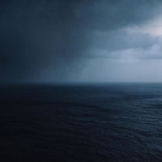 Distant storm by robbiel1