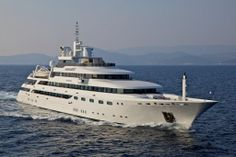 mega yachts at sea | and Y Charters International: Yacht Search