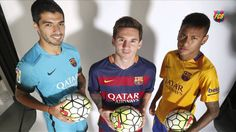 A closer look at Messi, Neymar and Suárez, aka The Trident