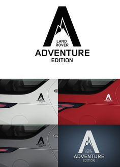 Sticker for Land Rover adventure edition