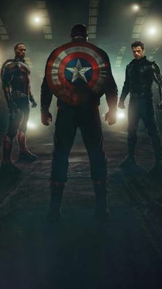 The Falcon And The Winter Soldier Heroes - IPhone Wallpapers