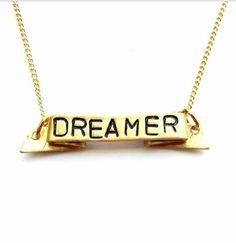 Dreamer   http://uncovet.com/favorites/positive-mantra-necklace?via=HardPin=type56