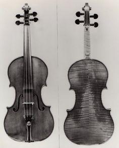 """The """"Circle"""" Violin, made by Antonius Stradivarius, 1701."""