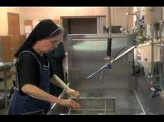 How Communion Wafers are Made by Passionist Nuns.  She presents to those preparing for their First Communion.  Great prep!