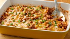 Why simmer and stir your chili when you can pour it all in a casserole and bake it? This quick and delicious dinner is a weeknight winner tasty enough for entertaining, too!