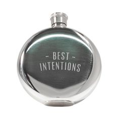 IZOLA - 5 OZ Best Intentions Flask $27.00