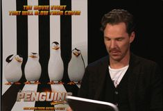 Ah, what a doll! Benedict Cumberbatch's Completely Random Opinion On Totally Random Things