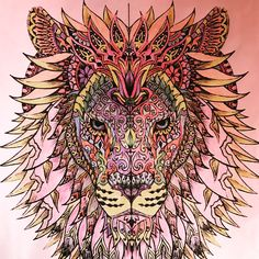 Free Coloring Pages Printables Adult Coloring Lion Coloring