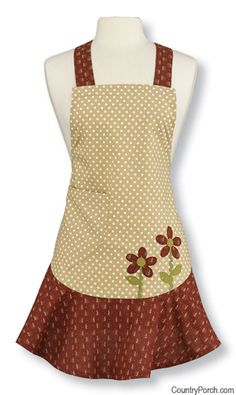 flower aprons | apron flower box apron the country porch features the flower box apron ...