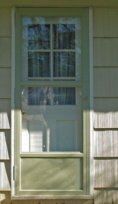 Good Painting An Aluminum Storm Door
