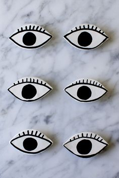 DIY Eye Magnets | Tr