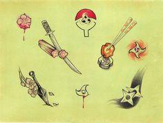 Naruto Tattoo Flash by mlcombs.deviantart.com on @deviantART