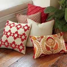 How To Clean Furniture, Couch Furniture, Kids Furniture, Furniture Cleaning, Furniture Stores, Furniture Design, Outdoor Furniture, Red Pillows, Sofa Pillows