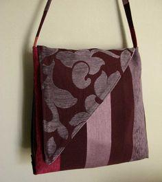 handmade bags- – borse fatte a mano – handmade bags - … – Bag Ideas Diy Handbag, Handmade Purses, Boho Bags, Simple Bags, Fabric Bags, Cute Bags, Sewing Techniques, Bag Making, Shopping Bag