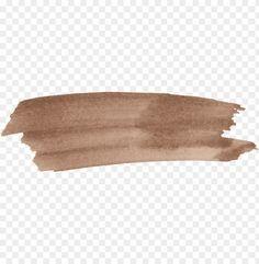 brown brush stroke in 2020 Brush stroke png Brush