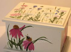 Image result for botanical themed painted furniture