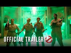 First trailer, images and posters for the GHOSTBUSTERS reboot starring Melissa McCarthy, Kate McKinnon, Kristen Wiig and Leslie Jones. Female Ghostbusters, Ghostbusters Reboot, Ghostbusters Movie, Kate Mckinnon, Melissa Mccarthy, Movie Trailers, Film Trailer, Routine, Fitness Exercises