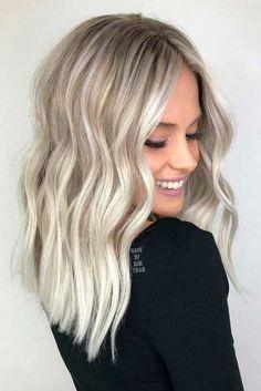 Le blond platine, tendance coloration cheveux rentrée
